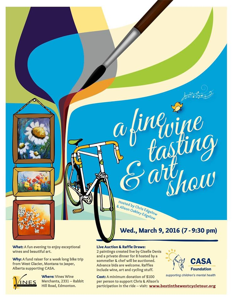 A fine wine and art show
