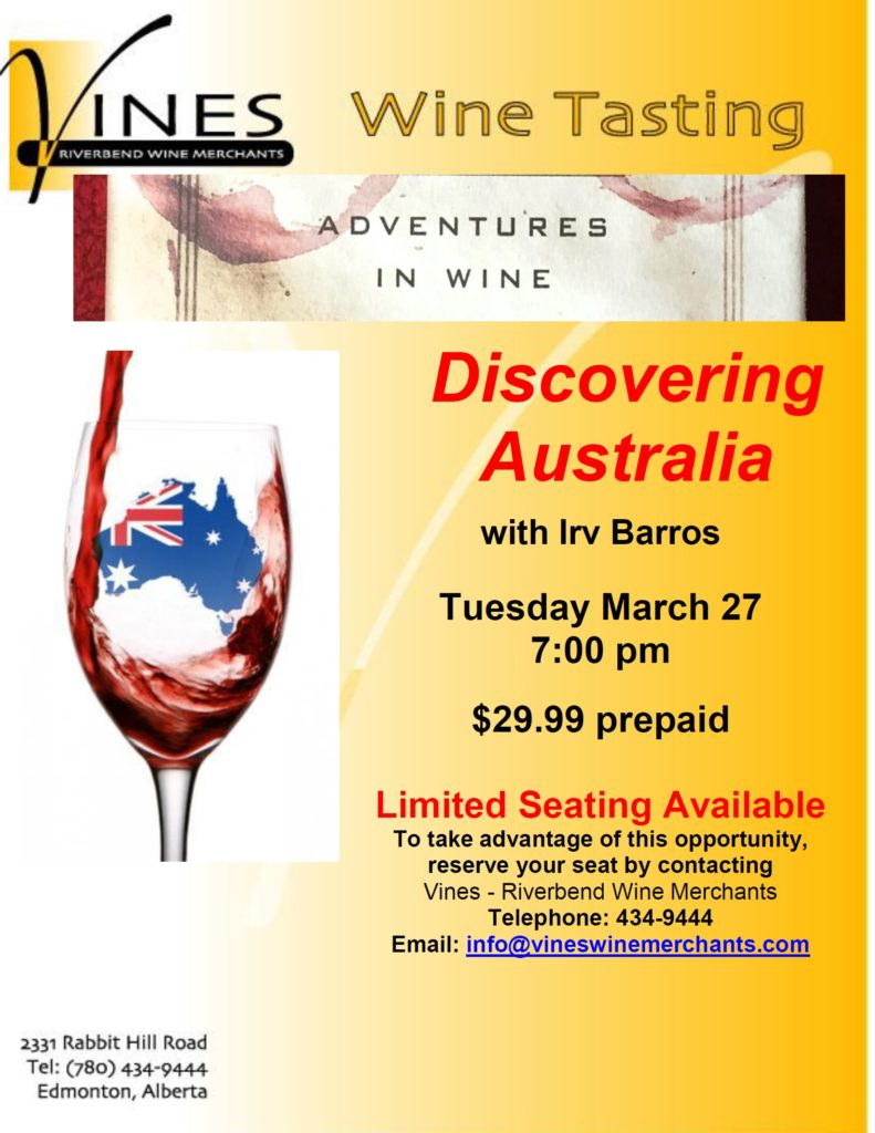 Adventures in Wine-Australia