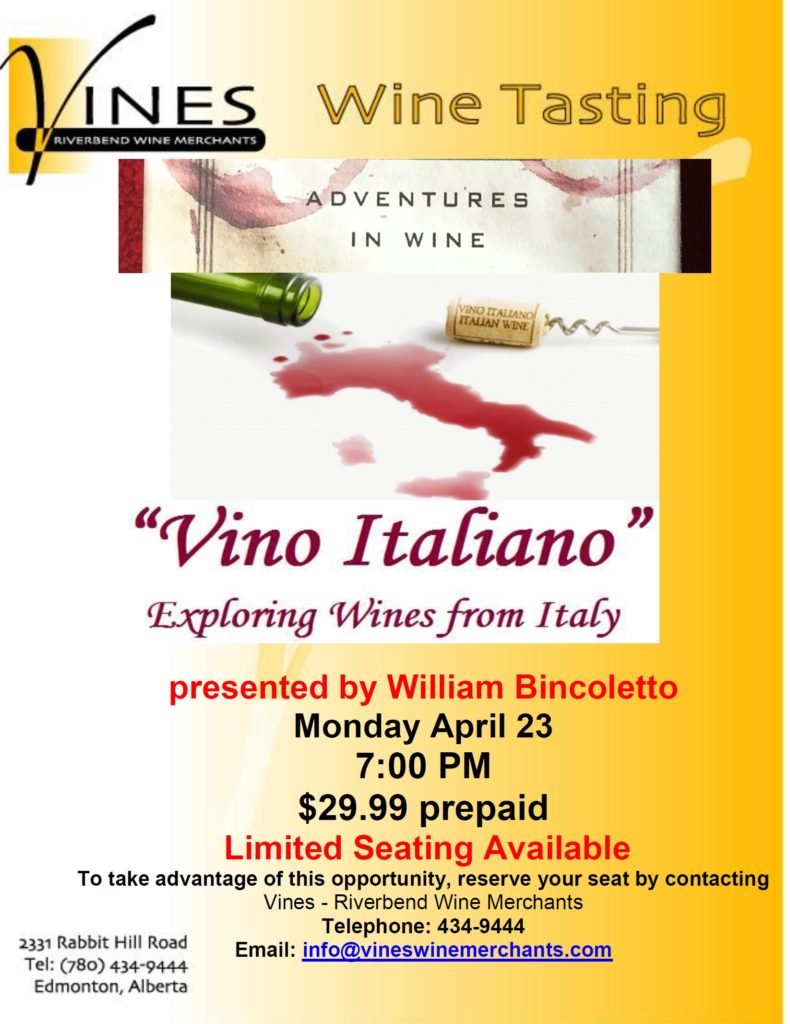 Adventures in Wine-Italy
