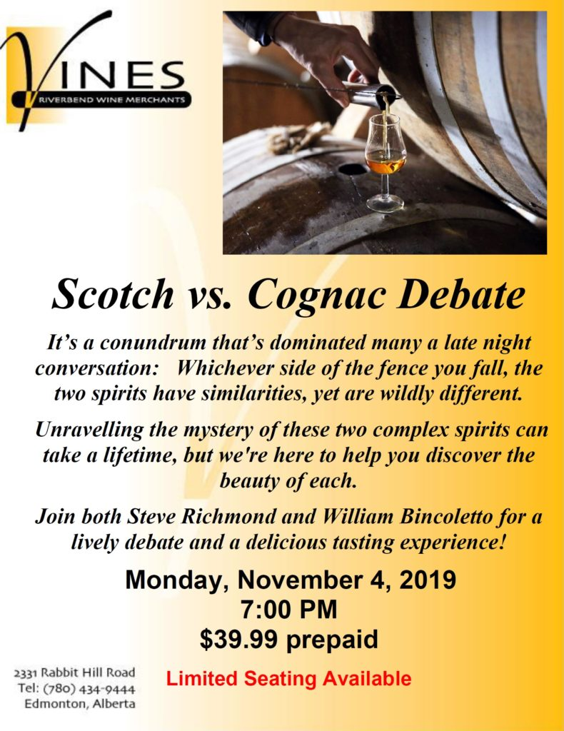 Scotch vs. Cognac
